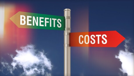 Cost-benefit balance of ERP implementation
